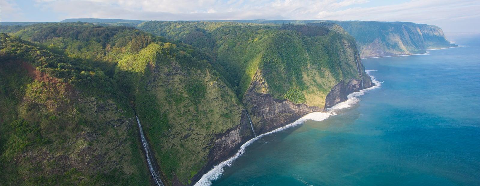 Big Island Hawaii 1WaterfallintoOcean