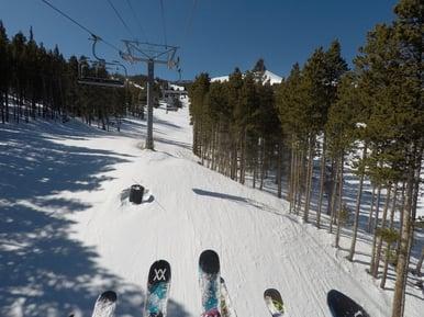 Ski Lift Breckenridge Exotic Estates